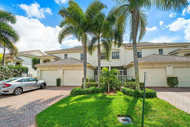 7947 Laina Lane #1, Boynton Beach, FL 33437 (#RX-10604834) :: Ryan Jennings Group