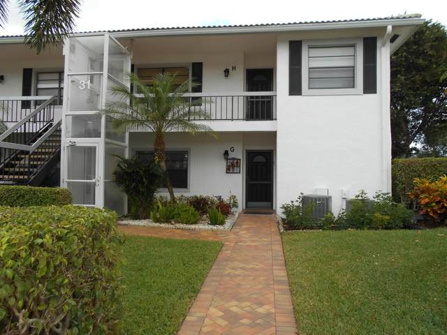 31 Stratford Lane H, Boynton Beach, FL 33436 (#RX-10604921) :: The Rizzuto Woodman Team