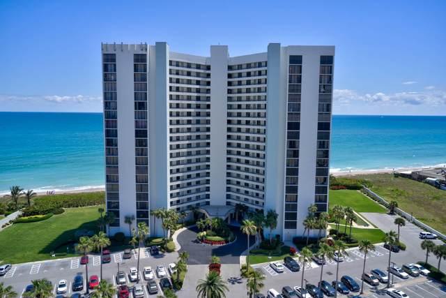 9650 S Ocean Drive #1805, Jensen Beach, FL 34957 (MLS #RX-10604962) :: Berkshire Hathaway HomeServices EWM Realty
