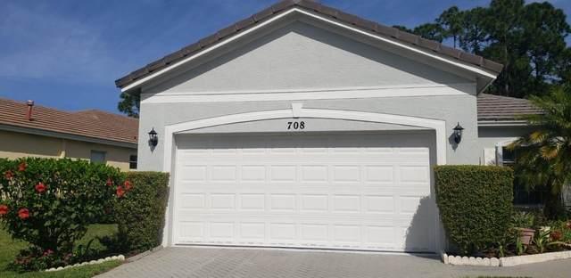 708 SW Rocky Bayou Terrace, Port Saint Lucie, FL 34986 (#RX-10605041) :: Ryan Jennings Group