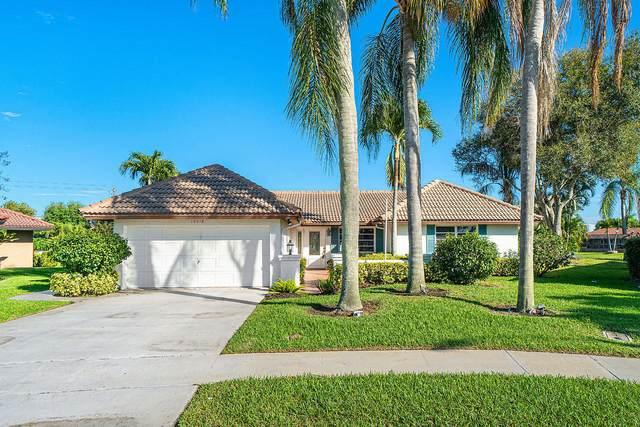 10418 Vereda Circle, Boynton Beach, FL 33436 (#RX-10605161) :: Ryan Jennings Group