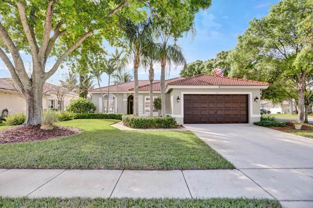 6803 Las Colinas Court, Lake Worth, FL 33463 (#RX-10605346) :: Ryan Jennings Group
