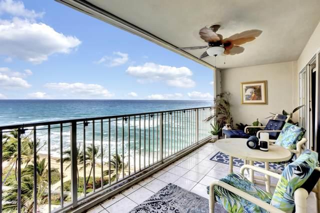 3101 S Ocean Boulevard #804, Highland Beach, FL 33487 (#RX-10606473) :: Posh Properties