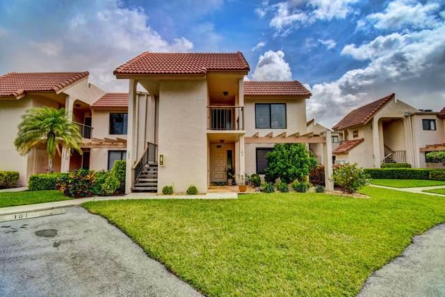 5603 Fairway Park Drive #205, Boynton Beach, FL 33437 (#RX-10606575) :: Ryan Jennings Group
