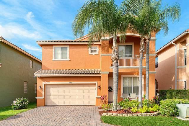 4285 Myrtle Way, Delray Beach, FL 33445 (#RX-10606614) :: Ryan Jennings Group