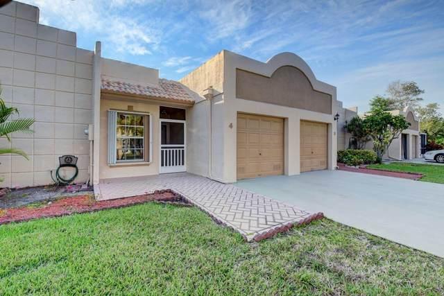 9124 Flynn Circle #4, Boca Raton, FL 33496 (MLS #RX-10607410) :: Berkshire Hathaway HomeServices EWM Realty