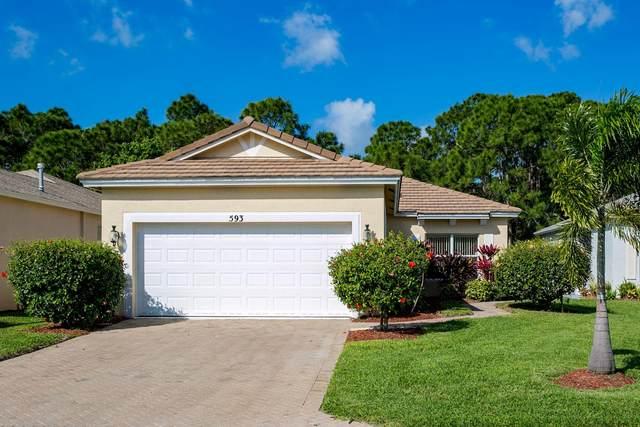 593 SW Indian Key Drive, Saint Lucie West, FL 34986 (#RX-10607437) :: Ryan Jennings Group