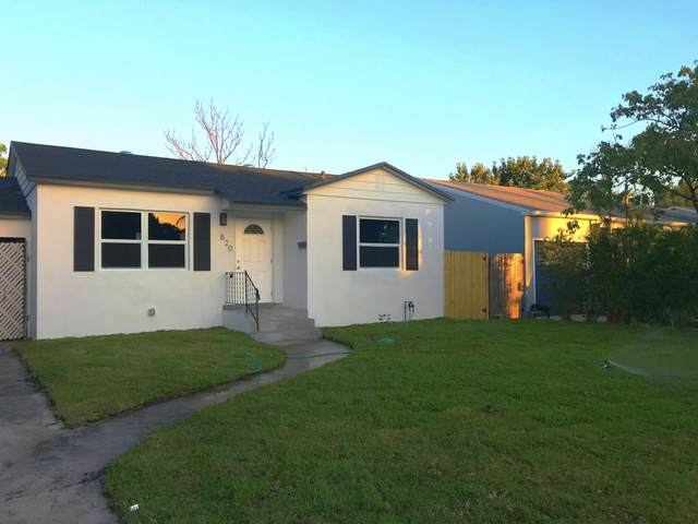 820 N D Street, Lake Worth, FL 33460 (#RX-10607490) :: Ryan Jennings Group