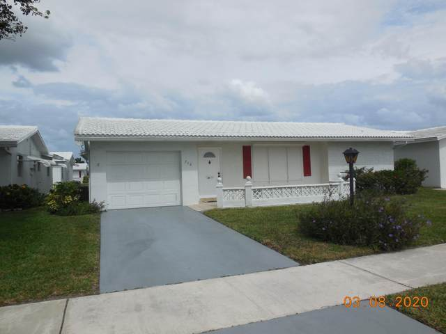 716 SW 18th Street, Boynton Beach, FL 33426 (#RX-10607635) :: Ryan Jennings Group
