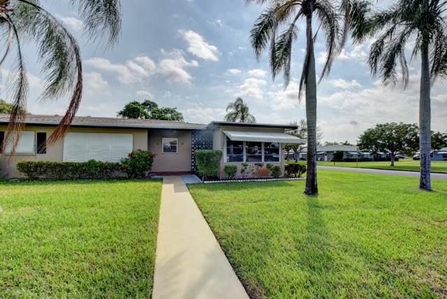 875 North Drive D, Delray Beach, FL 33445 (#RX-10607646) :: Ryan Jennings Group