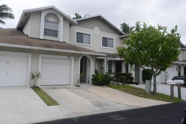 22 Desford Lane, Boynton Beach, FL 33426 (#RX-10608027) :: Ryan Jennings Group