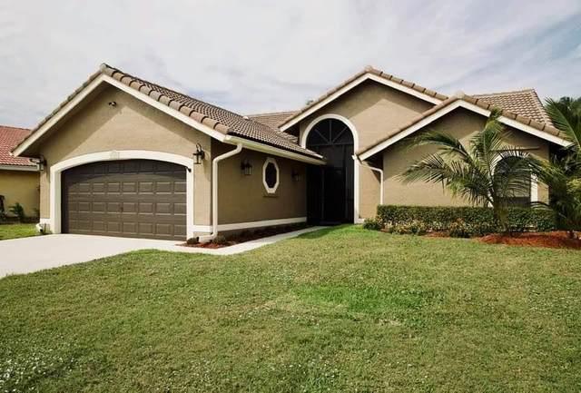 5327 Helene Circle, Boynton Beach, FL 33472 (#RX-10608577) :: Ryan Jennings Group