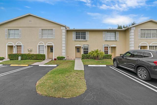 210 Foxtail Drive C, Greenacres, FL 33415 (#RX-10608595) :: Ryan Jennings Group