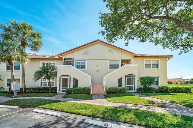 15209 S Tranquility Lake Drive #203, Delray Beach, FL 33446 (#RX-10608598) :: Ryan Jennings Group