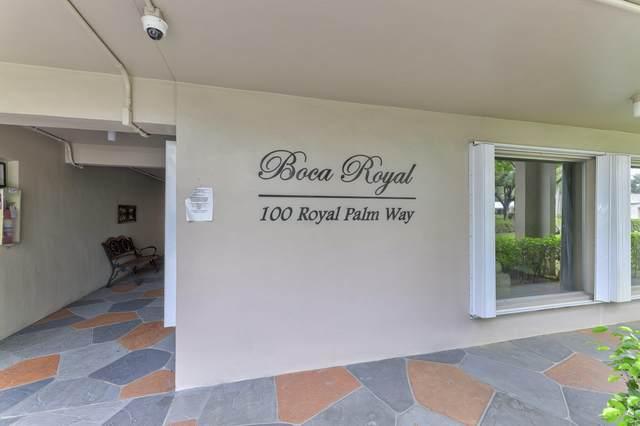 100 Royal Palm Way #308, Boca Raton, FL 33432 (#RX-10608787) :: Ryan Jennings Group