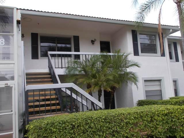 48 Stratford Lane D, Boynton Beach, FL 33436 (#RX-10609210) :: Ryan Jennings Group