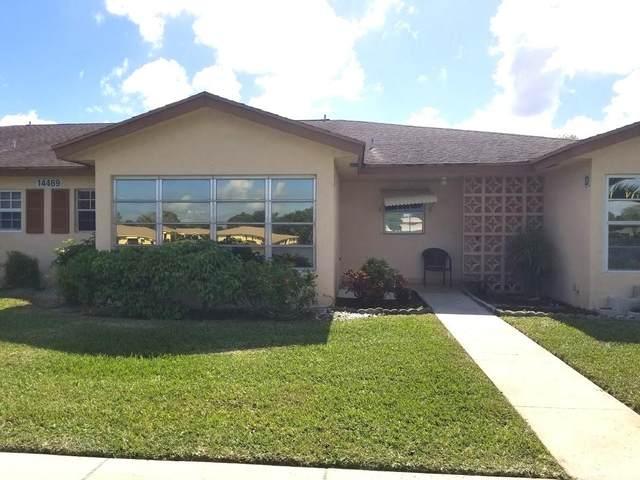 14469 E Canalview Drive C, Delray Beach, FL 33484 (#RX-10609469) :: Ryan Jennings Group