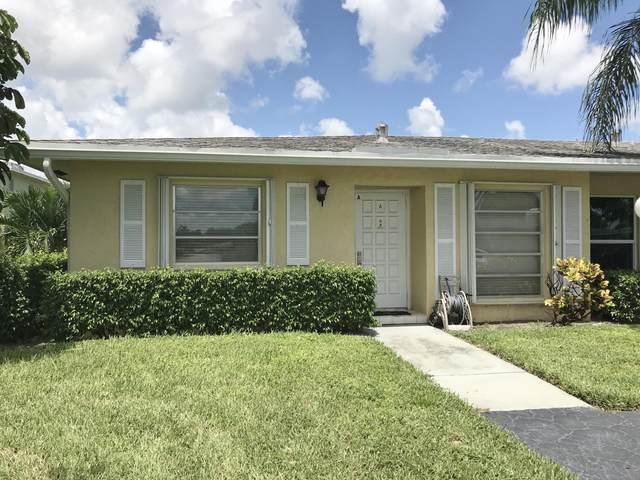 2541 Red Hibiscus Boulevard A, Delray Beach, FL 33445 (MLS #RX-10609542) :: Berkshire Hathaway HomeServices EWM Realty