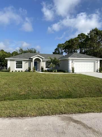 6129 NW Densaw Terrace, Port Saint Lucie, FL 34986 (MLS #RX-10609856) :: Castelli Real Estate Services