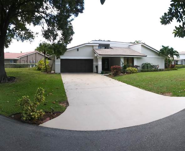 678 Lakewoode Circle E, Delray Beach, FL 33445 (#RX-10609879) :: Ryan Jennings Group