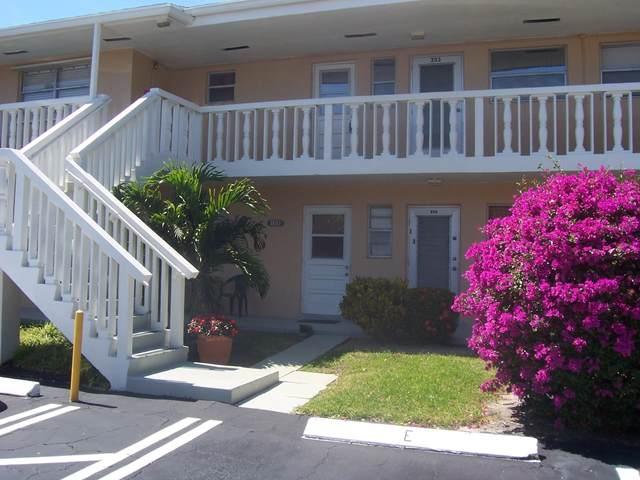 2223 NE 1st Court #203, Boynton Beach, FL 33435 (#RX-10609913) :: Ryan Jennings Group