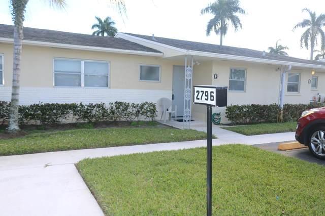2796 Ashley Drive W F, West Palm Beach, FL 33415 (#RX-10610032) :: Ryan Jennings Group
