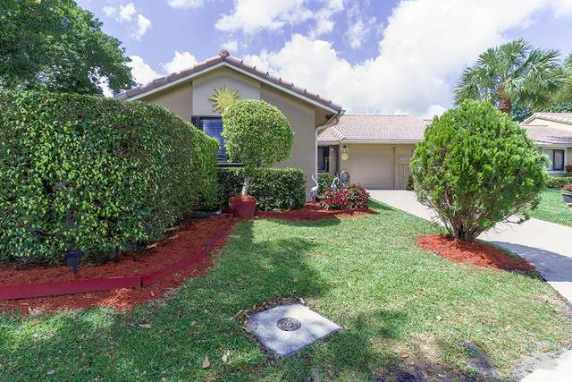 9912 Watermill Circle A, Boynton Beach, FL 33437 (#RX-10610136) :: Ryan Jennings Group