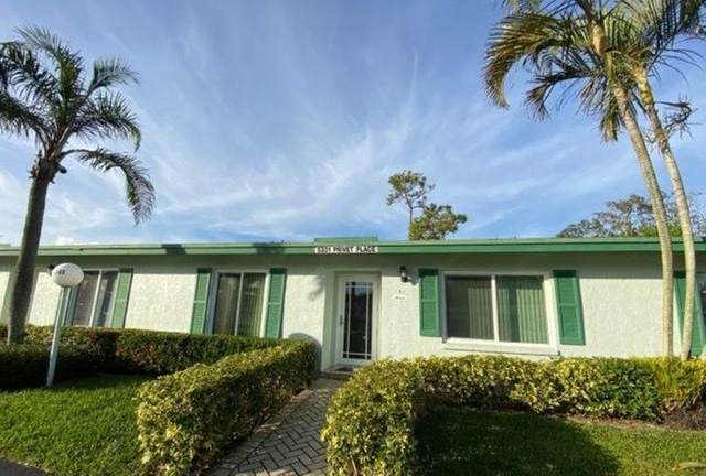 5301 Privet Place C, Delray Beach, FL 33484 (#RX-10610193) :: Ryan Jennings Group