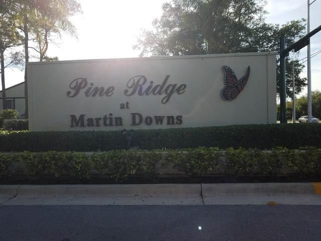 1605 SW Silver Pine Way 110 B-2, Palm City, FL 34990 (#RX-10610491) :: The Reynolds Team/ONE Sotheby's International Realty