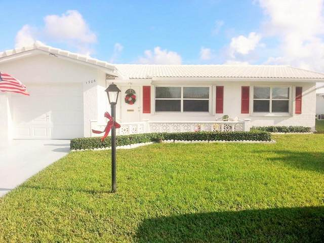 1706 SW 19th Drive, Boynton Beach, FL 33426 (#RX-10610517) :: Ryan Jennings Group