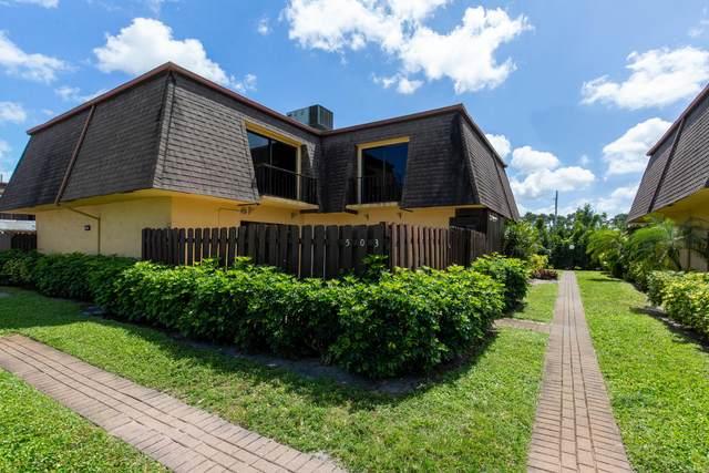 4211 Turnberry Circle #503, Lake Worth, FL 33467 (#RX-10610755) :: Ryan Jennings Group