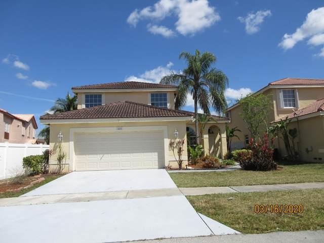 485 SW 183rd Way, Pembroke Pines, FL 33029 (#RX-10610762) :: Ryan Jennings Group