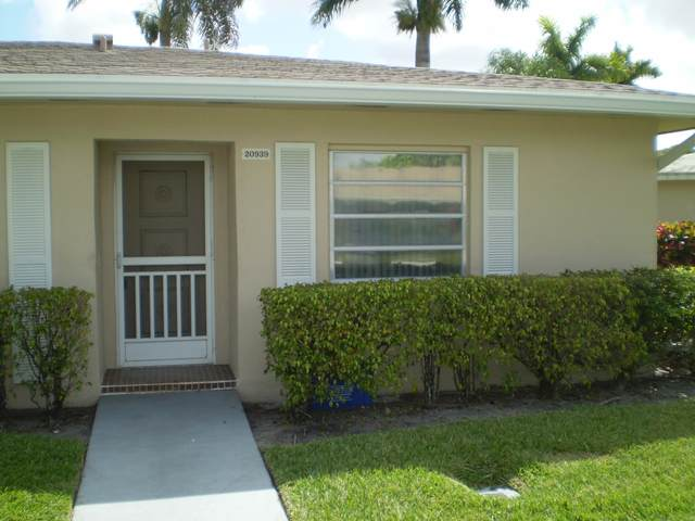 20939 Covington Drive, Boca Raton, FL 33433 (MLS #RX-10610782) :: The Paiz Group