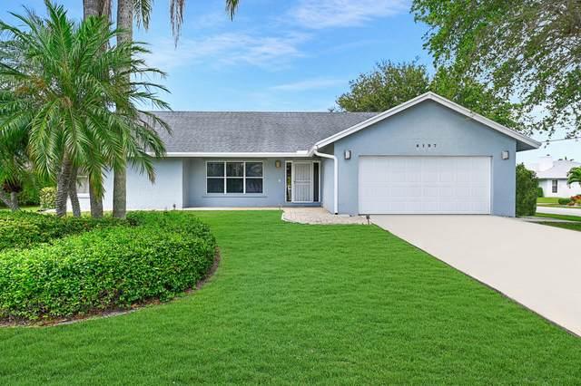 4197 Pine Cone Lane, Boynton Beach, FL 33436 (#RX-10610910) :: Ryan Jennings Group