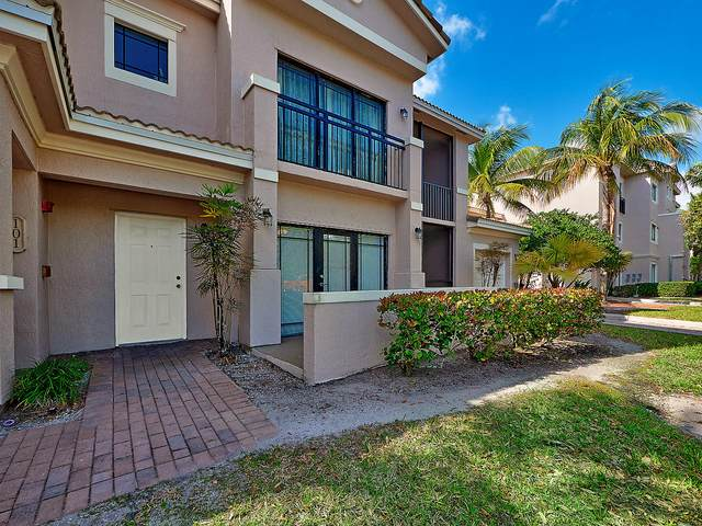 2801 Sarento Place #102, Palm Beach Gardens, FL 33410 (#RX-10611095) :: Ryan Jennings Group