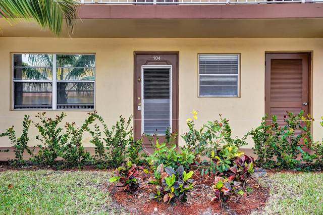 7200 NW 5th Place #104, Margate, FL 33063 (#RX-10611135) :: Ryan Jennings Group