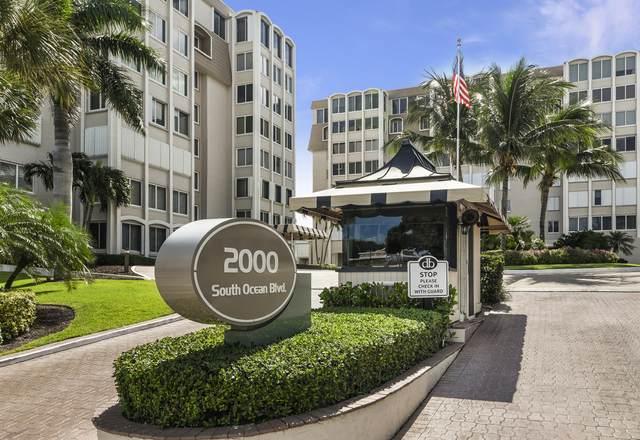 2000 S Ocean Boulevard #207, Delray Beach, FL 33483 (#RX-10611458) :: Ryan Jennings Group
