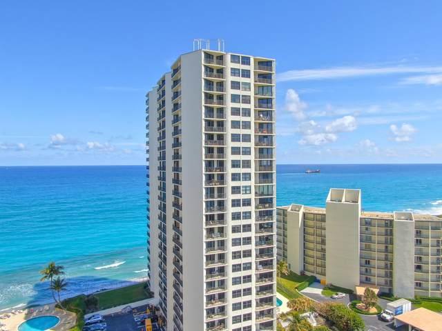 5420 N Ocean Drive #205, Riviera Beach, FL 33404 (#RX-10611490) :: Ryan Jennings Group