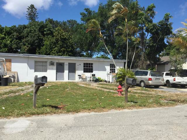 4641 Myrtle Lane, West Palm Beach, FL 33417 (MLS #RX-10611581) :: Berkshire Hathaway HomeServices EWM Realty