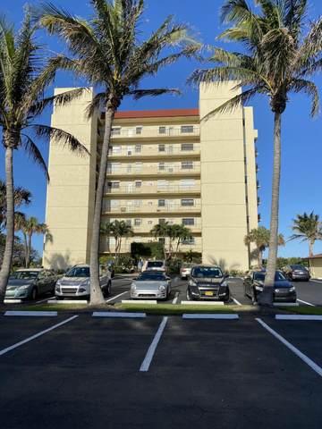 7400 S Ocean Drive #703, Jensen Beach, FL 34957 (#RX-10611616) :: The Rizzuto Woodman Team