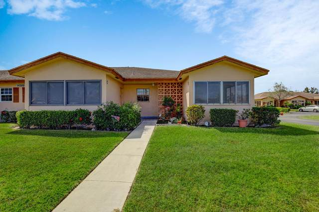 14589 Canalview Drive D, Delray Beach, FL 33484 (#RX-10611816) :: Ryan Jennings Group