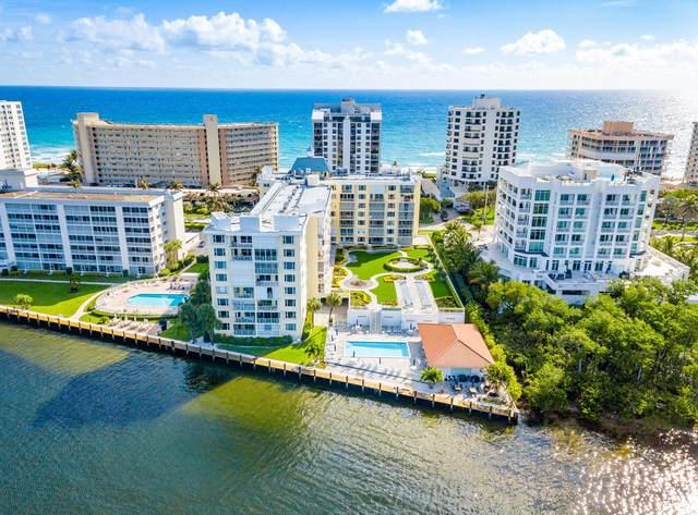 3114 S Ocean Boulevard #203, Highland Beach, FL 33487 (#RX-10611994) :: Ryan Jennings Group