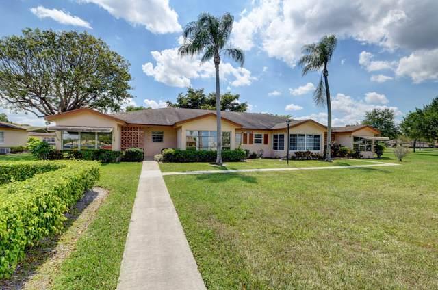 14452 Canalview Drive B, Delray Beach, FL 33484 (#RX-10612409) :: Ryan Jennings Group