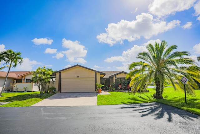 23 Fawlkland Circle, Boynton Beach, FL 33426 (#RX-10612617) :: Ryan Jennings Group