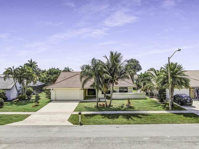 9592 Majestic Way, Boynton Beach, FL 33437 (MLS #RX-10612740) :: Laurie Finkelstein Reader Team