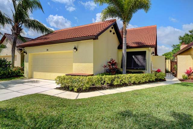 34 Ironwood Way N, Palm Beach Gardens, FL 33418 (MLS #RX-10612983) :: The Jack Coden Group
