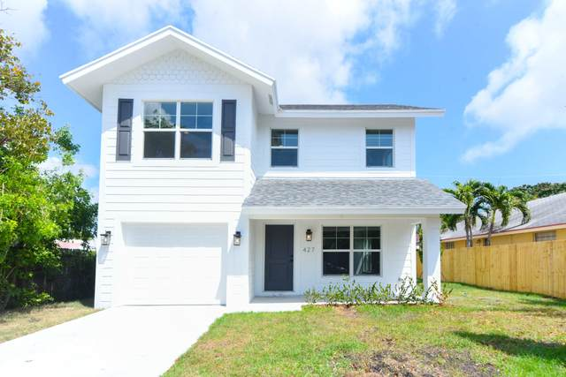 427 Wilder Street, West Palm Beach, FL 33405 (MLS #RX-10612990) :: The Jack Coden Group
