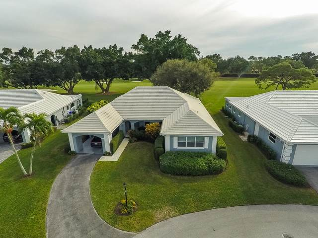 4866 S Lake Drive, Boynton Beach, FL 33436 (MLS #RX-10612998) :: The Jack Coden Group