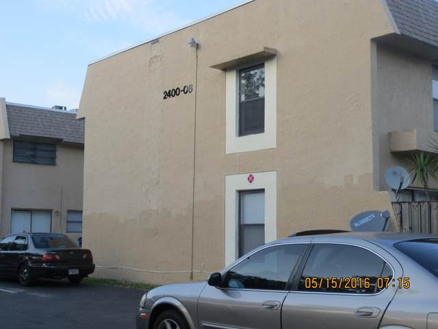 2400 NW 52nd Avenue #2400, Lauderhill, FL 33313 (#RX-10613086) :: Ryan Jennings Group