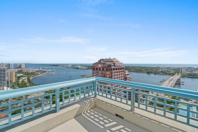 222 Lakeview Avenue Penthouse Four, West Palm Beach, FL 33401 (MLS #RX-10613512) :: Berkshire Hathaway HomeServices EWM Realty